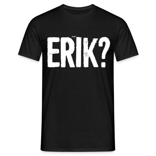 ERIK-vit - T-shirt herr