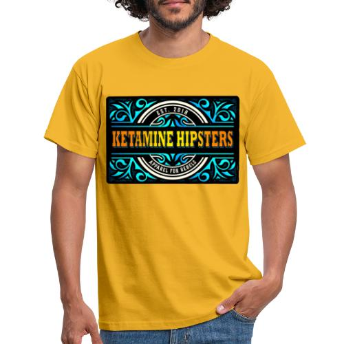 Black Vintage - KETAMINE HIPSTERS Apparel - Men's T-Shirt