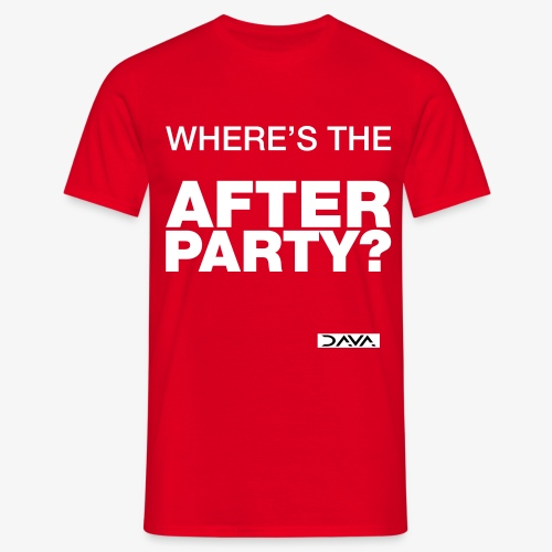 Afterparty - white - Men's T-Shirt
