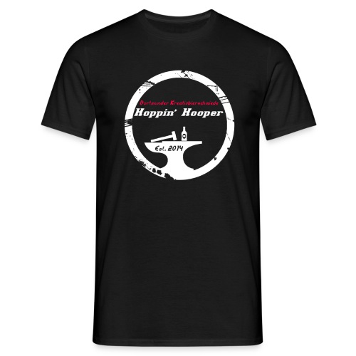 hooperwhite - Männer T-Shirt