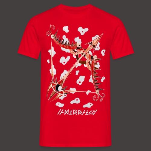 Sagittaire Négutif - T-shirt Homme