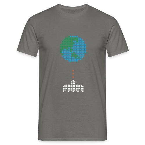 Earth Invaders - Männer T-Shirt