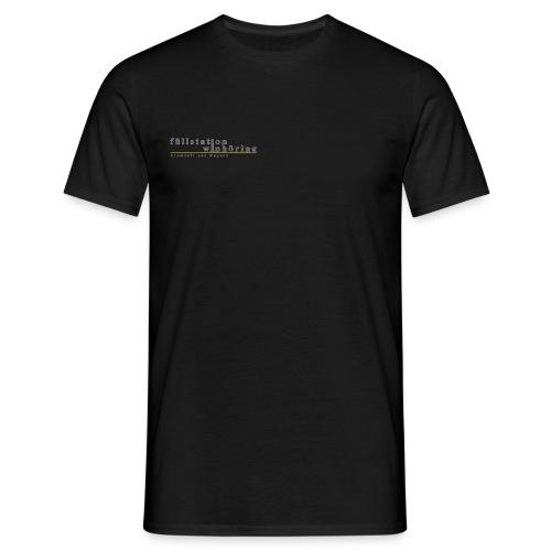 FW_Logo_schriftzug - Männer T-Shirt
