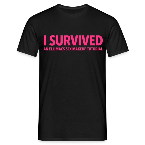 I survived - Men's T-Shirt