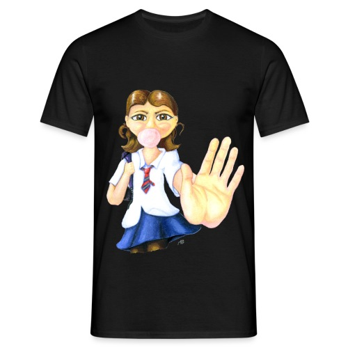 Talk to the Hand girl - Men's T-Shirt