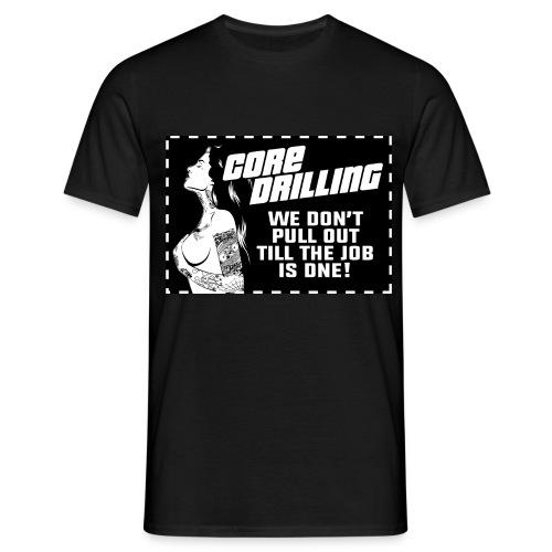 Core Drilling - T-shirt herr