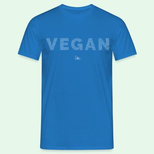 Vegan - White - T-shirt herr