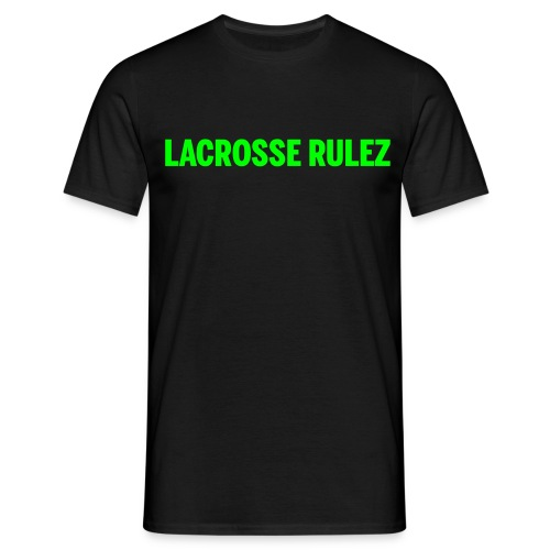 LAX Lacrosse Rulez - Männer T-Shirt