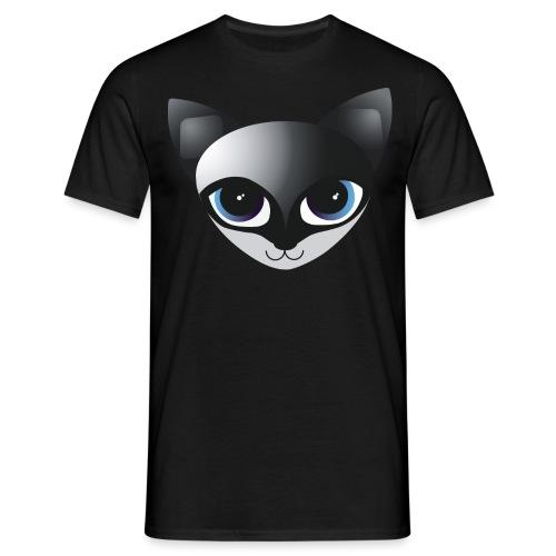 fox blue k 400px png - Männer T-Shirt