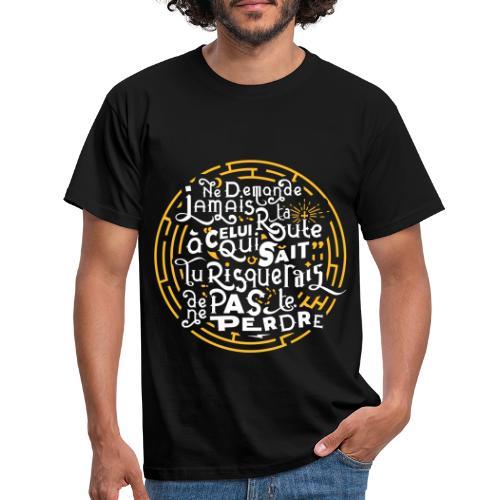 Aimer vivre et se perdre - T-shirt Homme