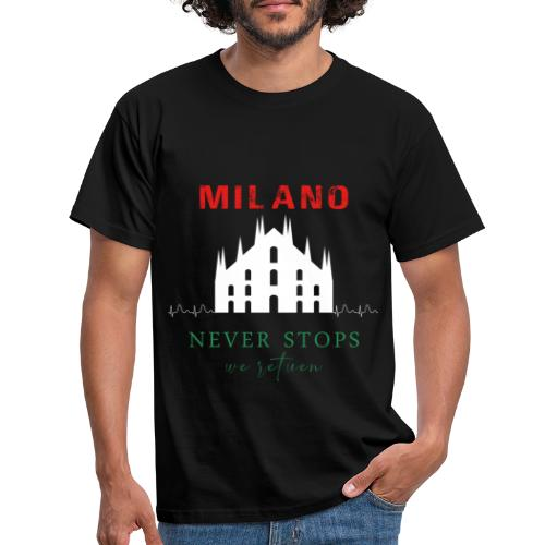 MILAN NEVER STOPS T-SHIRT - Men's T-Shirt