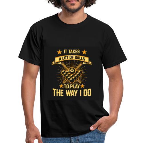 8 pool - T-shirt herr