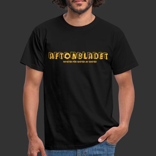 Aftonbladet för idioter - T-shirt herr