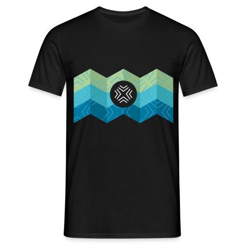 Kreuz-2 - Männer T-Shirt