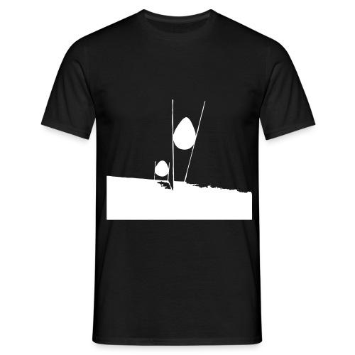 ei eitempera auf holz 50x70cm kopie v - Männer T-Shirt