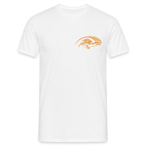 logo orange nu - T-shirt Homme