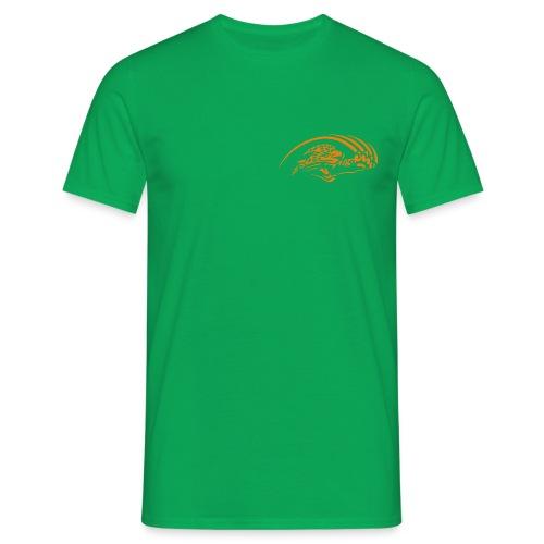 logo orange nu - T-shirt Homme