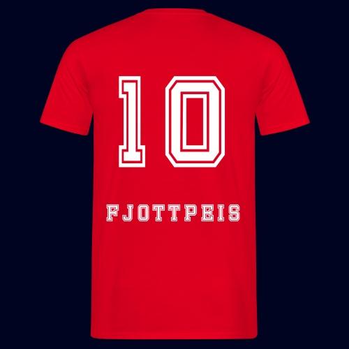 10 Fjottpeis - T-skjorte for menn