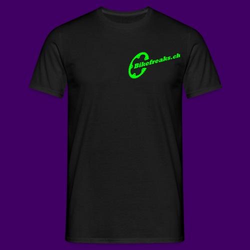 Bikefreaks ch 3 black - Männer T-Shirt
