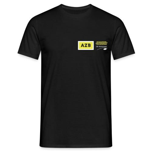 AZB logo Geel Wit - Mannen T-shirt
