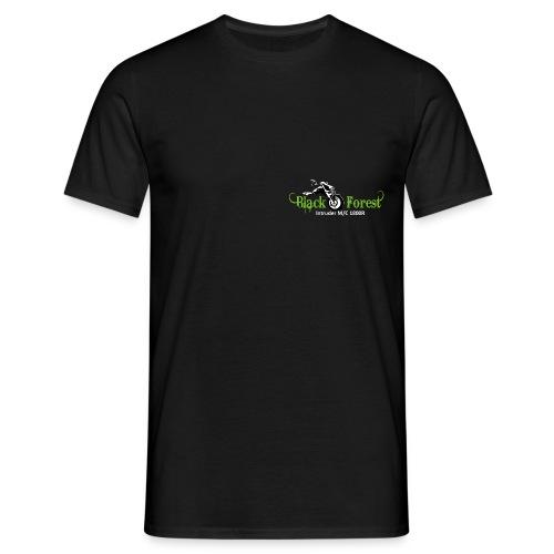 Black-Forest-Frontside - Männer T-Shirt