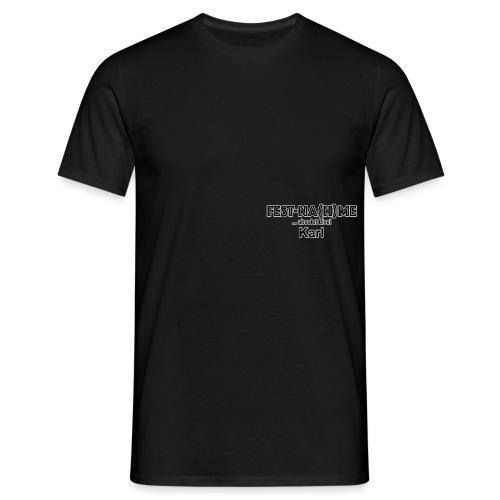 Brust Logo Karl - Männer T-Shirt