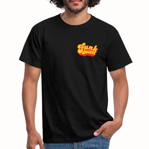 Funkdown Official Merchandise (dobbelt logo) - Herre-T-shirt