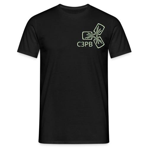 subraum schriftzug unten winzig - Männer T-Shirt