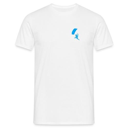 LSCLLogo_trans_weiss - Männer T-Shirt