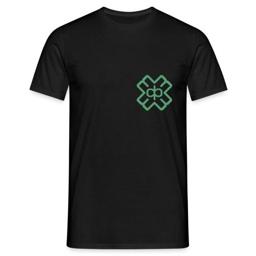 d3ep-logo-green - Men's T-Shirt