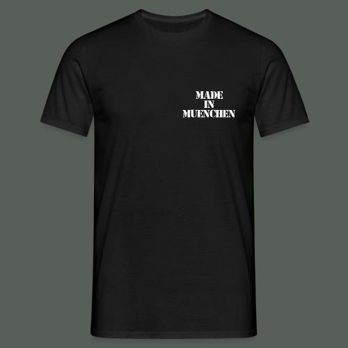muenchen_weiss - Männer T-Shirt
