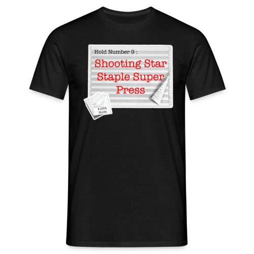 hold9 shootingstar - Men's T-Shirt