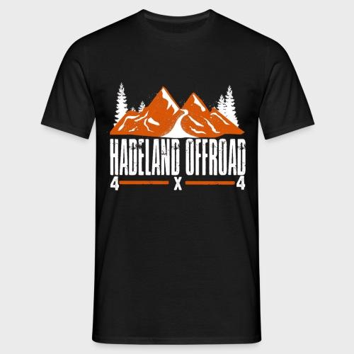 Hadeland Offroad Stor Logo Hvit - T-skjorte for menn