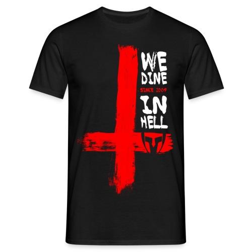 dine in hell - Männer T-Shirt