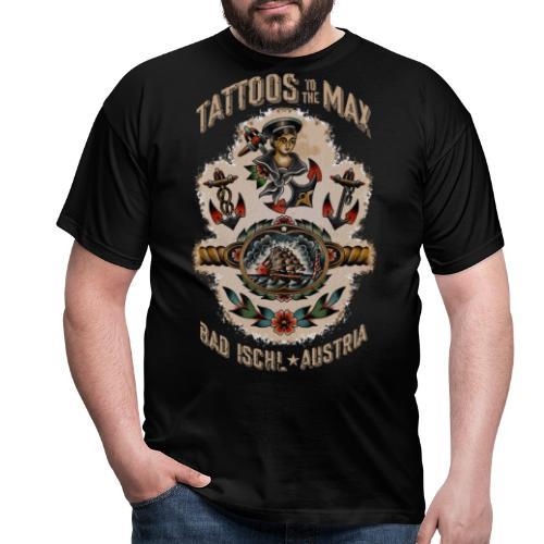 Waters Sailor Ship Matrose Tattoos to the Max - Männer T-Shirt
