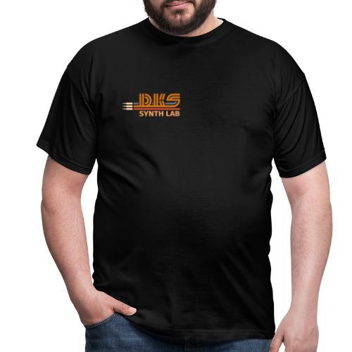 DKS SYNTH LAB Flat Orange-Orange - Maglietta da uomo