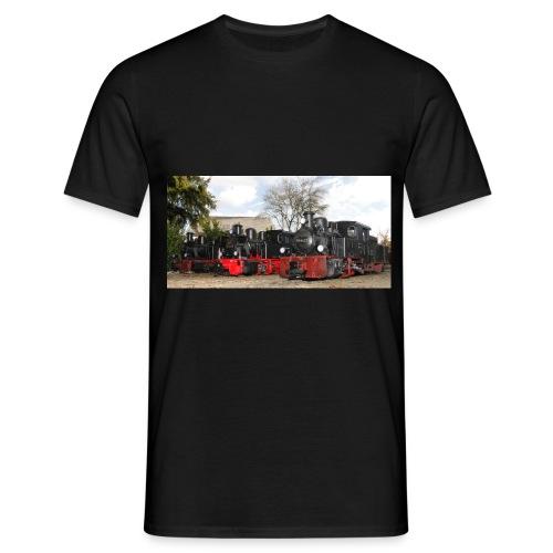 Dampfloks HF110C - Männer T-Shirt