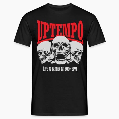 Uptempo - Life Is Better At 200+ BPM - Men's T-Shirt