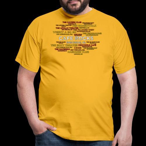 Legendary Rock Clubs - Mannen T-shirt