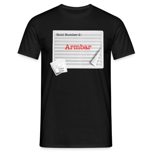 hold2 armbar - Men's T-Shirt