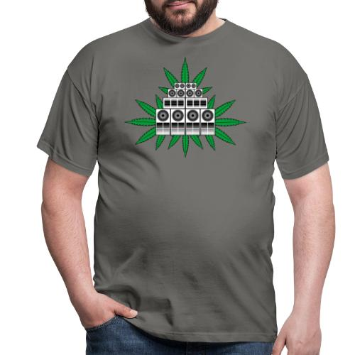 Ganja Sound System - Men's T-Shirt