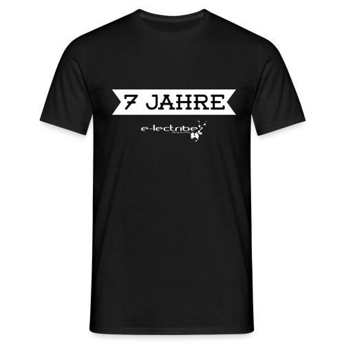 7jahre_2_white-01-01 - Männer T-Shirt