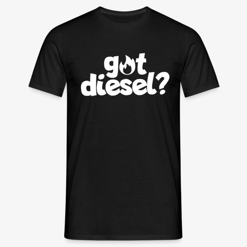 Got Diesel I Dieselholics - Männer T-Shirt