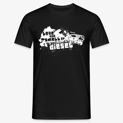 Love the smell of Diesel I Dieselholics - Männer T-Shirt