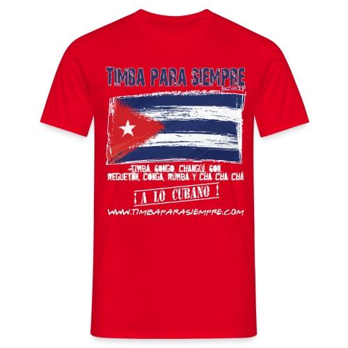 logo front red final border5 red png - Men's T-Shirt