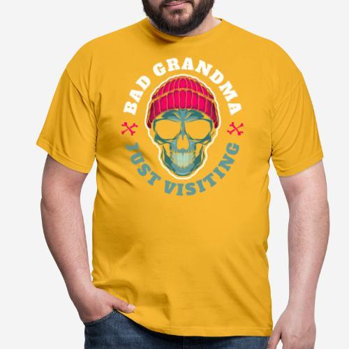 bad grandma grandmother - Männer T-Shirt