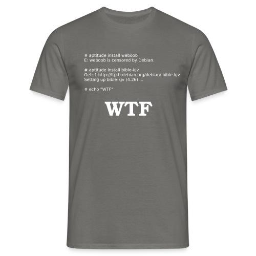 weboob censored - T-shirt Homme