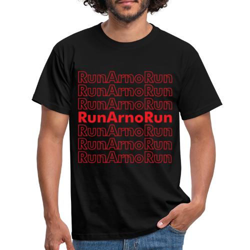 Run Arno Run text shirt - Men's T-Shirt