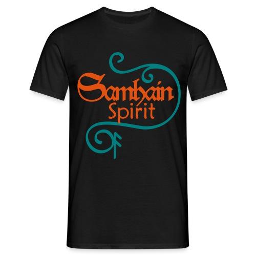 SAMHAIN SPIRIT mit Rune ANSUZ - Männer T-Shirt