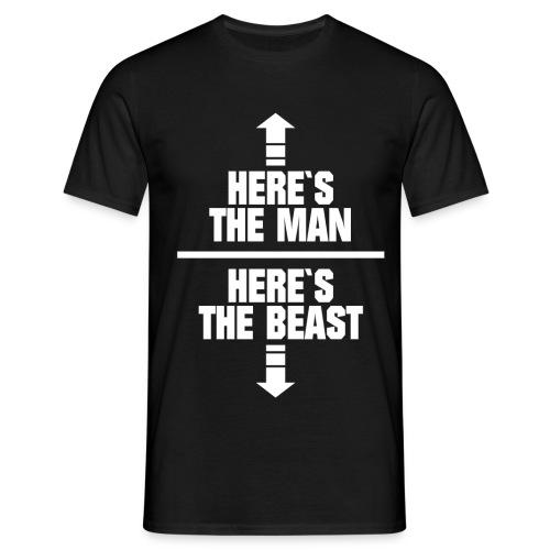 Man Beast - Camiseta hombre